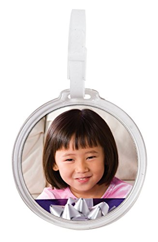 Round Photo Bag Tag - Pack of 144 by Snapins