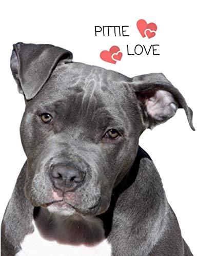 Pittie Love: Blank Lined Notebook ()