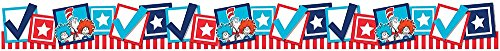 Eureka Deco Trim Extra Wide Die Cut, Cat in the Hat for President (845383)