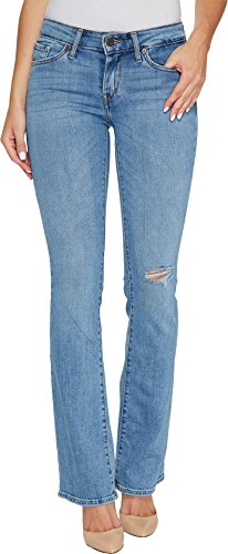 Classic Vintage Wash Jeans - Levi's Women's 715 Vintage Bootcut Jeans, Wash Out, 32 (US 14) R