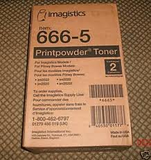 Imagistics / Pitney Bowes 666-5 Copier Toner (14000 Page Yield), Works for Imagistics im2020, Imagistics im2520, Imagistics im2520F, Imagistics im3520