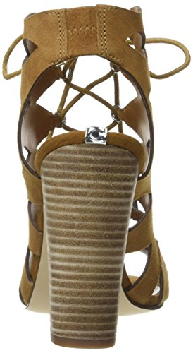 Marrone Donna Guess con Sandali Natural FLEB21ESU03 Medium Tacco Xx6R7qBwnR