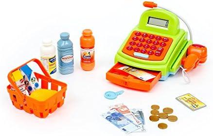 Funnytoy Caso Superfunny supermercado, caja registradora con luces, sonidos, escáner, micrófono, Calculadora y accesorios para el gasto (Mamatoy MMA07000) , color/modelo surtido: Amazon.es: Juguetes y juegos