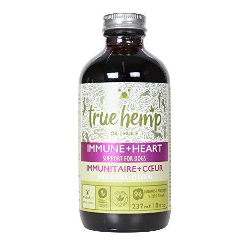 True-Leaf-Pet-77040-Hemp-Oil-Immune-Heart-Support-for-Dogs-8-fl-oz
