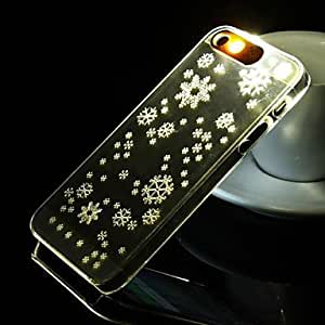 LCJSnow Patten Outer Glow in The Dark Case for iPhone 5/5S
