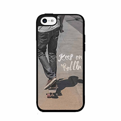 Keep on Rollin Plastic Phone Case Back Cover iPhone 4 4s