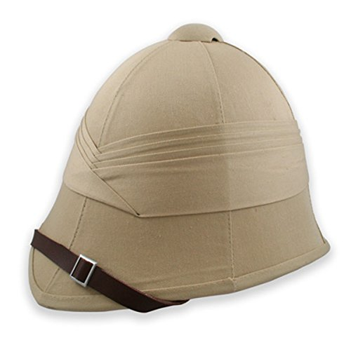 Historical Emporium Men's British Empire Pith Helmet Khaki
