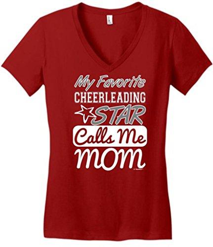 Favorite Cheerleading Calls Juniors V Neck