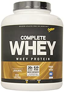 CytoSport Complete Whey Protein, Cocoa Bean, 5 Pound