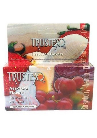 Trustex Assorted Flavors (Pack of 12)