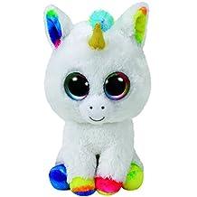 "TY Beanie Boo PIXY - The Unicorn Regular Size 6"" Plush"
