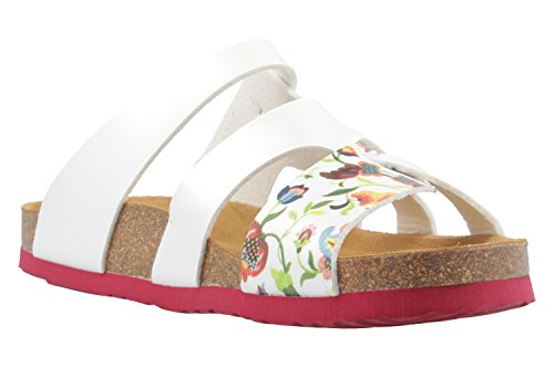 Dr. Scarpe Da Donna Brinkmann Footbed Rosso / Bianco Rosso / Bianco