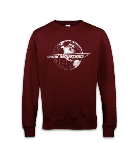 Stark Industries Globe Sweatshirt - Tv Film Movie Sweatsh...