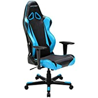 DXRacer OH/RB1/NB Black & Blue Racing Series Gaming Chair