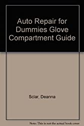Auto Repair for Dummies Glove Compartment Guide