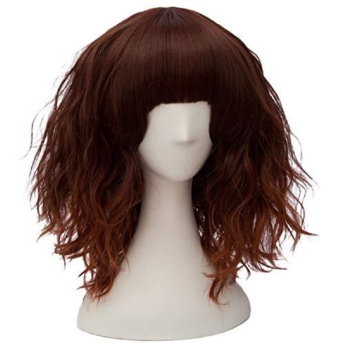 Alacos Candy Wigs, Fashion 35cm Short Curly Bob