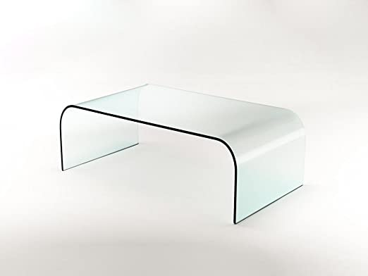 Idea Mesas de Cristal y metacrilato Mesa de Cristal de salón ...