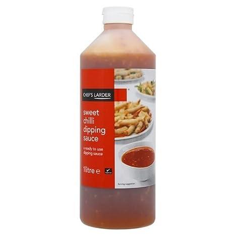 Chefs despensa dulce salsa de chile - 1ltr: Amazon.es: Alimentación y bebidas