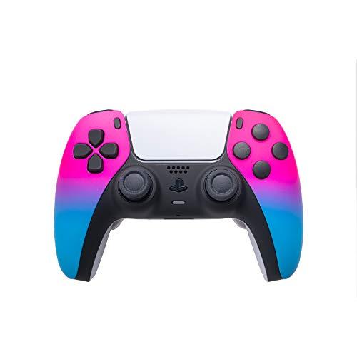 AimControllers Aangepaste PS5-controller DualSense met peddels – Sony PlayStation 5 draadloze controller – Playstation…