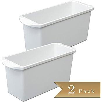 Amazon Com Set Of 2 Ice Cube Bin Container Box