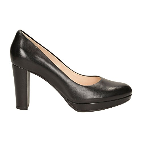 Sienna Femme Clarks Kendra Noir Leather black Escarpins 8FAwcWS