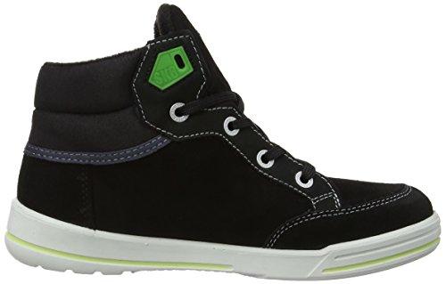 Ricosta Bajo Jungen Hohe Sneakers Schwarz (Schwarz Black)