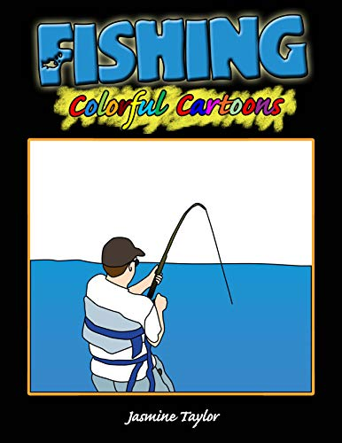 Fishing Colorful Cartoon Illustrations