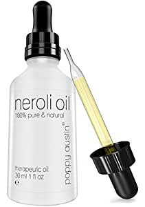 Neroli Oil 100% Pure Therapeutic & Finest Grade Neroli Essential Oil, Organic & Undiluted, 1 oz