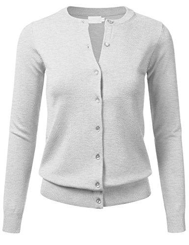 Button Crewneck Sweater - 4