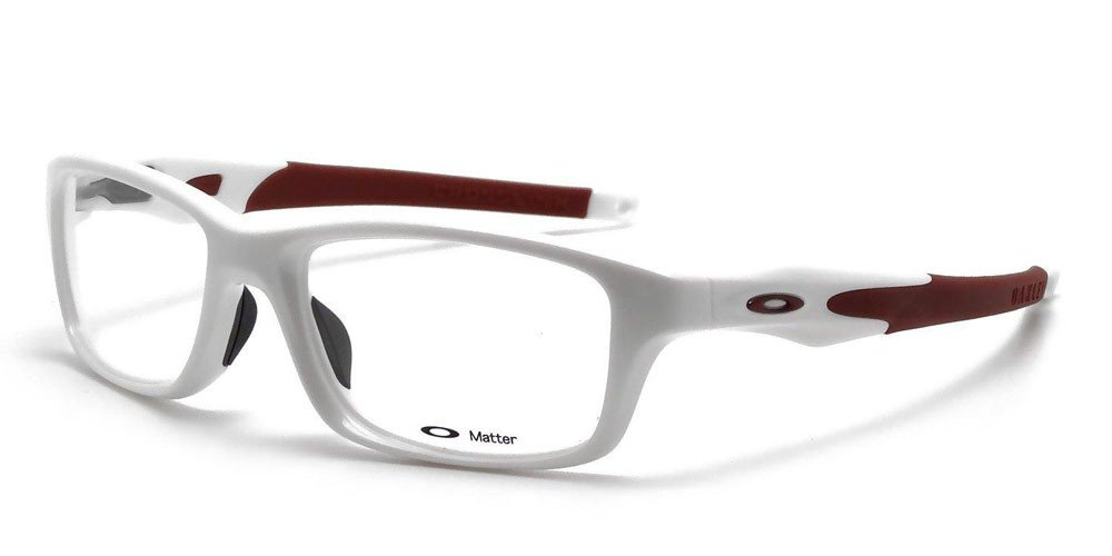 5a47aa1e92 Amazon.com  Oakley Crosslink 8030-0455 in Pearl Cardinal 55mm (Demo Lens)   Health   Personal Care