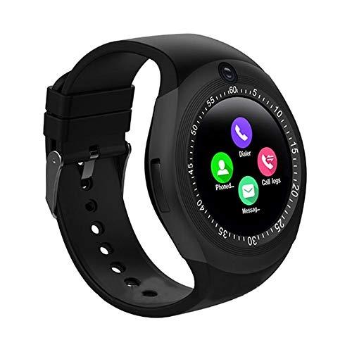 bffe0cf0b Xotak Smart Watch with Bluetooth Sim Card, Health Fitness Tracker and More  - Black