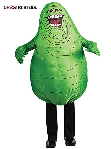 Ghostbusters Inflatable Slimer Child Costumes (Rubie's Kid Inflatable Slimer Costume - Small)