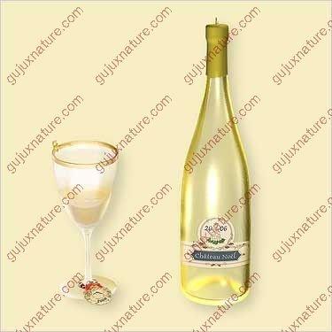 Hallmark Keepsake Ornament A Toast to Wine White ()