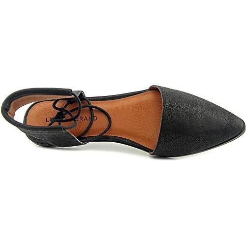 Brand Plate Cuir Cuir Noir Mabonnee Chaussure Lucky x7nOHd