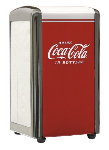 TableCraft Coca-Cola CC342 Drink Coca-Cola Napkin Dispenser ()