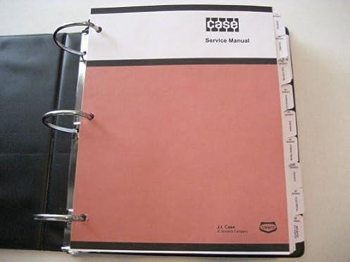 case 580ck loader backhoe service manual j i case amazon com books rh amazon com case 480ck manual case 580ck manual free
