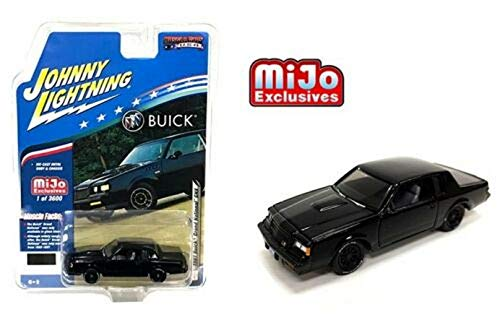 1987 Grand National GNX (Black) Limited Edition to 3,600 Pieces Worldwide 1/64 Diecast Model Car by Johnny Lightning JLCP7178  from Johnny Lightning