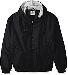 Unisex adult Hooded Taffeta Jacketfleece Lined
