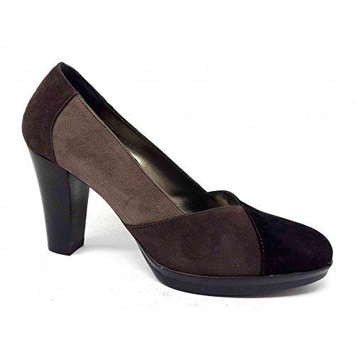 CONFORT - Zapatos de vestir de ante para mujer Negro negro