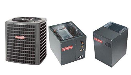 Goodman 4 Ton 15 SEER Heat Pump with Variable Speed Air Handler SSZ140481MBVC2000AA-1