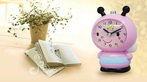 かわいいミツバチの目覚まし時計 (Color : ピンク)