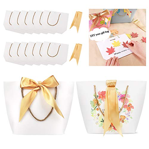 Phogary Gift Bags with Handles - 12PCS 11x7.9x3.5