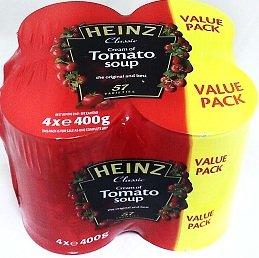 - Heinz Tomato Soup 4 X 400g