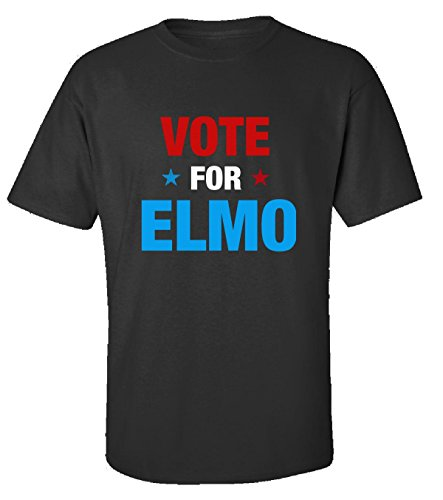 Vote for Elmo First Name - Adult Shirt XL - Elmo T-shirt Personalized Birthday