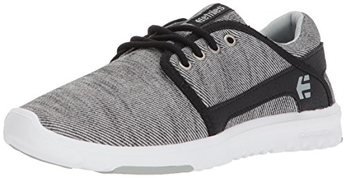 Etnies Womens Scout W's Skate Shoe, Black Denim, 8.5 Medium US