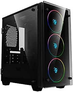 CoolBox DeepRainbow – Caja gaming pc micro-ATX/mini-ITX ...