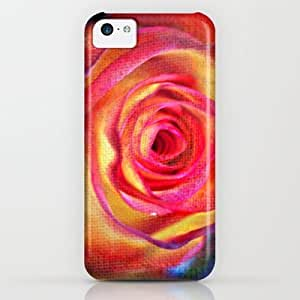 Openwork Rose(3). Case For Ipod Touch 5 Cover By Mary Berg