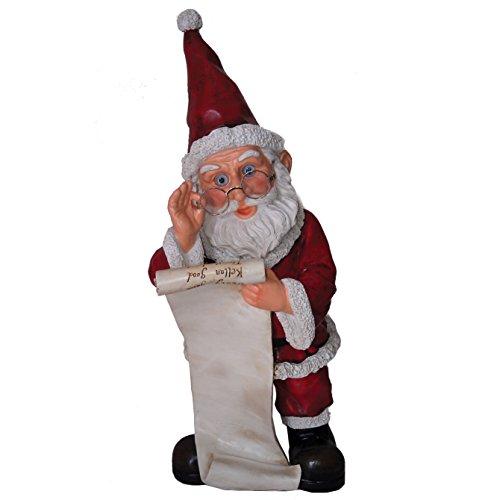 Michael Carr Designs 80074 Garrold Santa with List