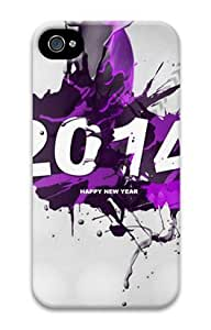 E-luckiycase PC Hard Shell 2014 for Iphone 4 4s 3D Case