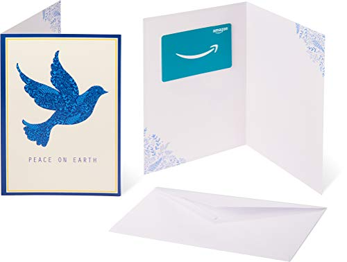 Amazon.com Gift Card in a Greeting Card -  Peace on Earth Design